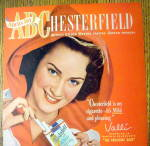 Click to view larger image of 1948 Chesterfield Cigarettes with Valli (Image2)