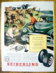 Vintage Ad: 1953 Seiberling Tires