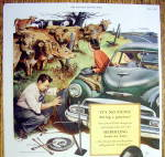 Click to view larger image of Vintage Ad: 1953 Seiberling Tires (Image2)