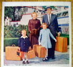 Click to view larger image of 1956 Samsonite Luggage with June Allyson & Dick Powell (Image2)