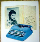 Click to view larger image of 1958 Smith Corona Typewriter with Natalie Wood (Image2)