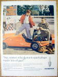 Click to view larger image of Vintage Ad: 1960 Champion Spark Plugs (Image1)