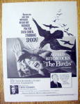 1963 Alfred Hitchcock's The Birds with Woman & Birds