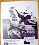 Click to view larger image of 1963 Alfred Hitchcock's The Birds with Woman & Birds (Image2)