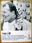 Click here to enlarge image and see more about item 15693: 1964 Champion Spark Plugs with A. J. Foyt