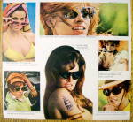 Click to view larger image of 1968 Foster Grants Sun Glasses with Raquel Welch (Image3)