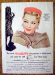 Vintage Ad: 1954 Lux Toilet Bar Soap with Anne Baxter
