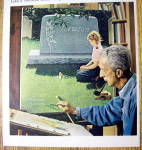 Click to view larger image of 1966 Sealmark Rock of Ages Memorials by Norman Rockwell (Image2)