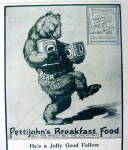 Click to view larger image of Vintage Ad: 1899 Pettijohn's Breakfast Food (Image2)