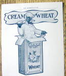 Click to view larger image of Vintage Ad: 1901 Cream of Wheat (Image2)