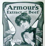 Click to view larger image of Vintage Ad: 1901 Armour's Extract of Beef (Image2)