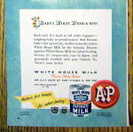 Click to view larger image of Vintage Ad: 1947 White House Evaporated Milk (Image3)