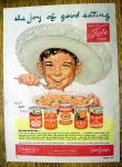 1952 Van Camp's Canned Foods