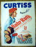 1952 Baby Ruth Candy Bar