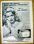 Click to view larger image of 1945 Lux Toilet Soap with Lana Turner (Image1)