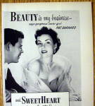 Click to view larger image of 1952 Sweetheart Soap with Cover Girl Pat Barnard (Image2)