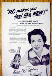 Click to view larger image of 1952 Royal Crown Cola (RC Cola) with Constance Smith (Image2)