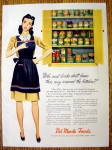 Click to view larger image of 1945 Del Monte Canned Foods (Image1)