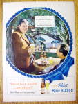 1949 Pabst Blue Ribbon Beer with Charles Laughton