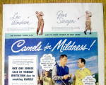 Click to view larger image of 1949 Camel Cigarettes with Lew Worsham/Gene Sarazen (Image2)
