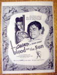 Click to view larger image of 1945 Blood on the Sun with James Cagney & Sylvia Sydney (Image1)