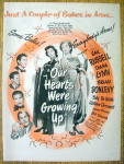 1946 Our Hearts Were Growing Up With Gail Russell