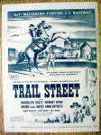 Click to view larger image of 1947 Trail Street With Bat Masterson By Peter Hurd (Image1)
