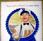 Click to view larger image of 1947 Pabst Blue Ribbon Beer with Eddie Cantor (Image2)