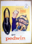 Click to view larger image of Vintage Ad: 1959 Buster Brown Pedwin Curve Shoes (Image1)