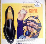 Click to view larger image of Vintage Ad: 1959 Buster Brown Pedwin Curve Shoes (Image2)