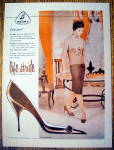 Click to view larger image of Vintage Ad: 1958 Buster Brown Life Stride Cuscino Shoes (Image1)