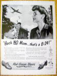 Vintage Ad: 1944 Red Goose Shoes For Boys & Girls