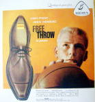 Click to view larger image of Vintage Ad: 1959 Buster Brown Pedwin Free Throw Shoes (Image2)