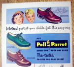 Click to view larger image of Vintage Ad: 1949 Poll-Parrot Shoes (Image2)