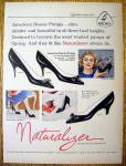 Click to view larger image of Ad:1959 Naturalizer Shoes (American Beauty Pumps) (Image1)