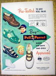 Click to view larger image of Vintage Ad: 1949 Poll Parrot Shoes For Boys & Girls (Image1)