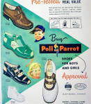 Click to view larger image of Vintage Ad: 1949 Poll Parrot Shoes For Boys & Girls (Image2)