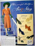 Click to view larger image of Ad:1942 Air Step Shoes With Magic Sole for Women (Image2)
