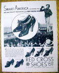 Vintage Ad: 1936 Red Cross Shoes