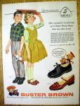 VIntage Ad: 1958 Buster Brown Shoes by Alex Ross