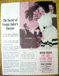 Vintage Ad: 1947 The Late George Apley w/ Peggy Cummins