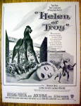 Ad: 1956 Helen of Troy with Rossana Podesta