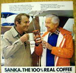 Click to view larger image of 1979 Sanka Coffee with Robert Young & Man Talking (Image2)