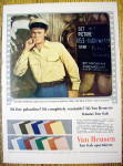 Click to view larger image of 1954 Van Heusen Sport Shirts with Richard Widmark (Image1)