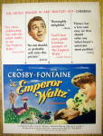 1948 The Emperor Waltz with Bing Crosby & Joan Fontaine