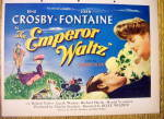Click to view larger image of 1948 The Emperor Waltz with Bing Crosby & Joan Fontaine (Image2)