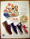 Click to view larger image of 1955 Keds Shoes with Booster, Champion, Cager & More (Image1)