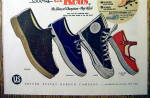 Click to view larger image of 1955 Keds Shoes with Booster, Champion, Cager & More (Image2)