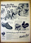 Click to view larger image of 1945 Weather Bird Shoes with Ruffy Rain & Children (Image1)