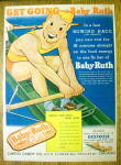 1939 Curtiss Baby Ruth with Man Rowing Boat